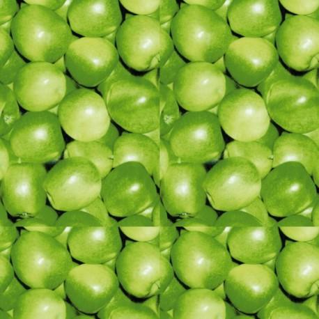 3 Feuilles décopatch pomme granny smith
