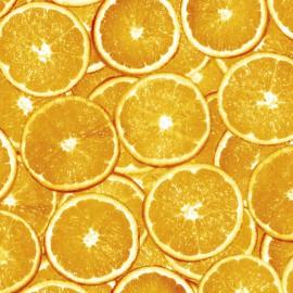 Feuilles décopatch demi orange