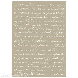 Pochoir décoratif Manuscript 15x21cm