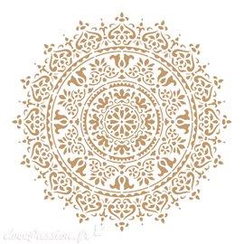 Pochoir décoratif Adamascado 093 25x25cm