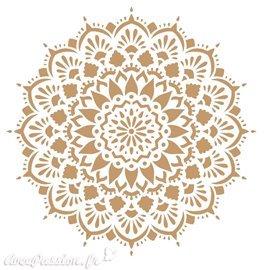 Pochoir décoratif Adamascado 094 20x20cm
