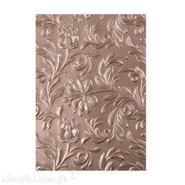 Plaque embossage Sizzix Tim Holtz 3D Textured impressions botanical A4
