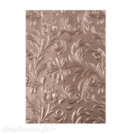 Plaque embossage Sizzix Tim Holtz 3D Textured impressions botanical