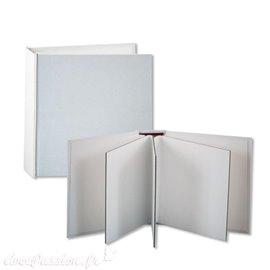 Scrapbooking Cahier A5 avec couverture en Stone paper (pages lignées)