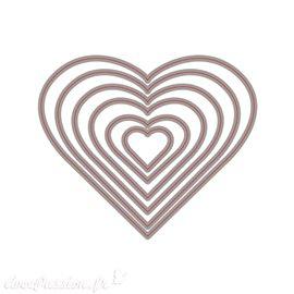 Dies de découpe Matrice de cœurs