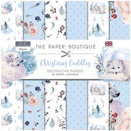 Papier scrapbooking Paper Boutique Christmas Cuddles 20x20 décorative paper