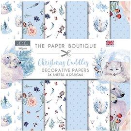Papier scrapbooking Paper Boutique Christmas Cuddles 15x15 Décorative Papers