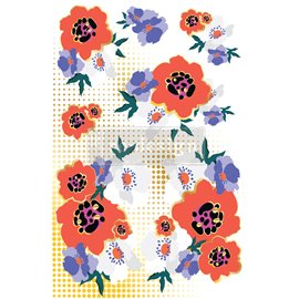 Transfert pelliculable Redesign Modernist Floral - Collection Cece Designer 61x89cm