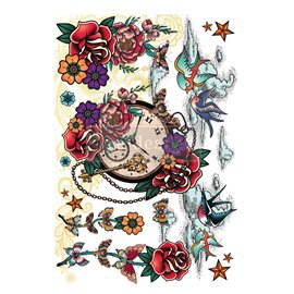 Transfert pelliculable Redesign Inked Flash - Collection Cece Designer 61x89cm