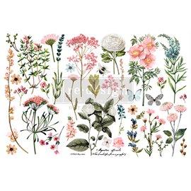 Transfert pelliculable Redesign Botanical Paradise 15x30cm