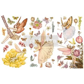 Transfert pelliculable Redesign Fairy Flowers 15x30cm