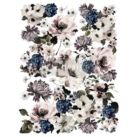 Transfert pelliculable Redesign Dark Floral 61x89cm