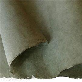 Papier népalais lokta lamaLi vert gris