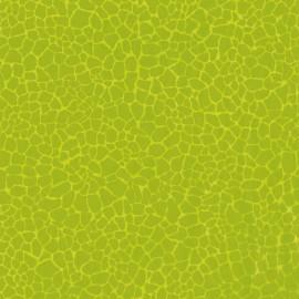 Feuilles décopatch gros craquelé vert