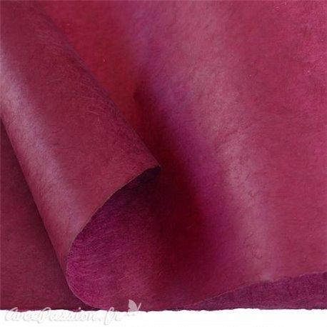 Papier népalais lokta lamaLi prune