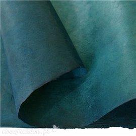 Papier népalais lokta lamaLi bleu turquoise foncé