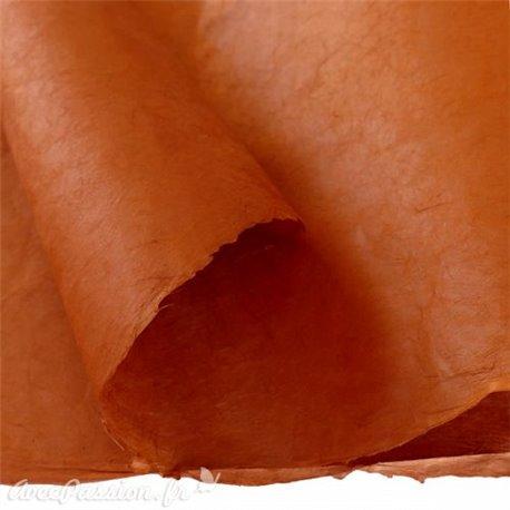 Papier népalais lokta lamaLi marron