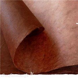 Papier népalais lokta lamaLi marron glacé