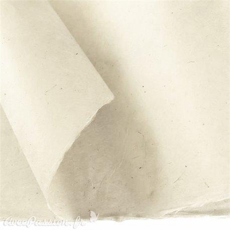 Papier népalais lokta Lamali naturel