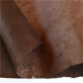 Papier népalais lokta lamaLi marron muscade
