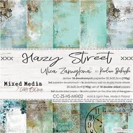 Papier scrapbooking Craft O Clock Hazy Street 18fe assortiment 20x20