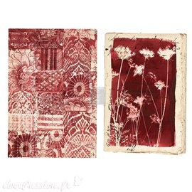 Transfert pelliculable Botanical Print