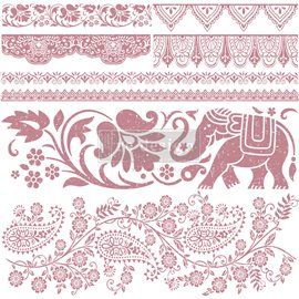 Tampon Redesign Decor Stamps Bohemian Dreamer 30,5x30,5cm - 8 pièces