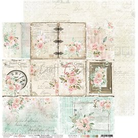 Papier scrapbooking Craft O Clock Hello Beauty A SHEET WITH DECORATIVE CARDS