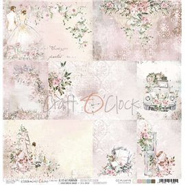 Papier scrapbooking Craft O Clock Love Me Forever A SHEET WITH DECORATIVE CARDS