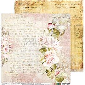 Papier scrapbooking Craft O Clock Vintage Treasure 05 - 30x30 réversible