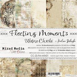 Papier scrapbooking Craft O Clock Fleeting Moments 18fe assortiment 20x20