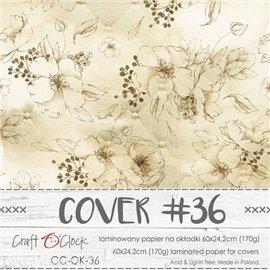 Couverture album scrapbooking Craft O Clock 36  60x24cm
