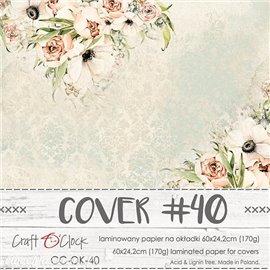 Couverture album scrapbooking Craft O Clock 40  60x24cm