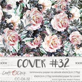 Couverture album scrapbooking Craft O Clock 32  60x24cm