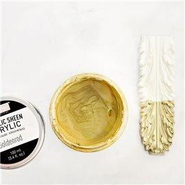 Peinture acrylique Metallic Sheen Goldenrod - Doré