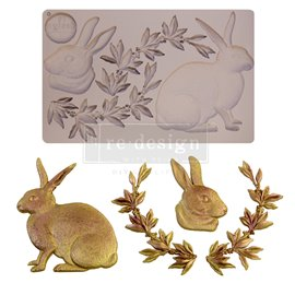 Moule ReDesign en silicone Meadow Hare