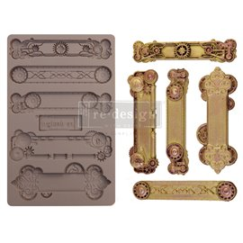 Moule ReDesign en silicone Steampunk Plates