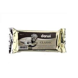 Pâte à modeler séchant à l'air classique Darwi 500g