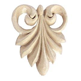 Moulure Woodubend Paquet de deux gouttelettes 6,5 x 5,5 cm