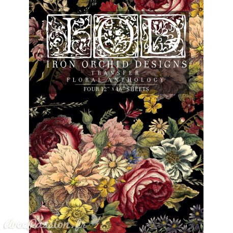 Transfertpelliculable IOD Floral Anthology