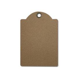 Tag brut Stamperia Set de 4 tag craft 10x14,5cm