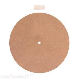 Horloge ronde à décorer 30cm médium mdf