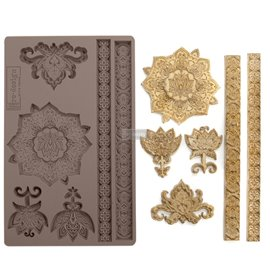 Moule ReDesign en silicone Agadir patterns