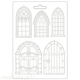 Moule Sleeping Beauty doors and windows Stamperia A4