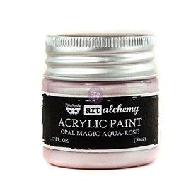 Peinture nacrée Art Alchemy aqua-rose Opal magic
