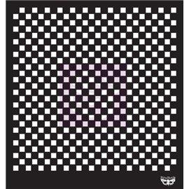 Pochoir décoratif Checkered Carreaux 30x30cm