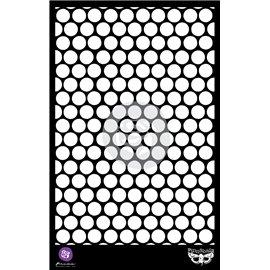 Pochoir décoratif Honeycomb Nid d'abeille 16,5x26cm