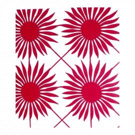 Laser die cut scrapbooking Karen marie Clip fleur rouge