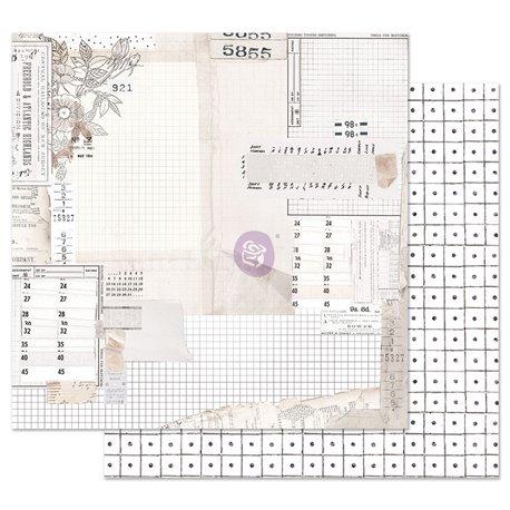 Papier scrapbooking Prima Pretty Pale The Last Hour 30x30cm