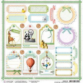 Feuille scrapbooking Ciao Bella Height & Weight 30x30 double face